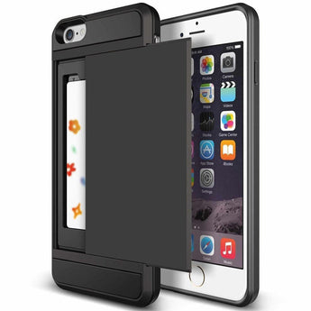 New Hybrid Tough Capa Case and card holder For Apple