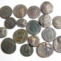 Ancient Coins and Glass