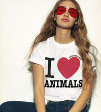 I LOVE and don't eat ANIMALS