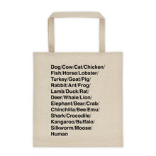 Large Species Tote