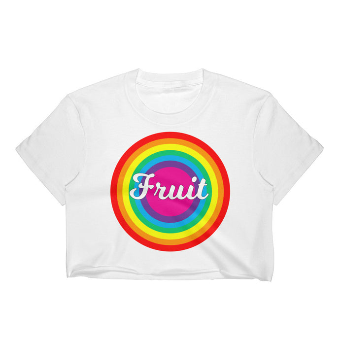 Cropped Fruit Tee