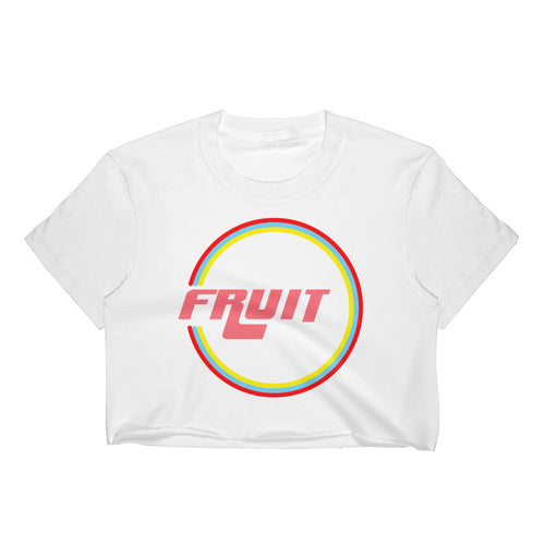 Retro Fruit Crop-Top