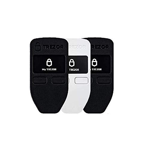 Trezor One Multipack - Cryptocurrency Hardware Wallet - The Most Trusted Cold Storage for Bitcoin, Ethereum, ERC20 and Many More (2X Black, 1x White)