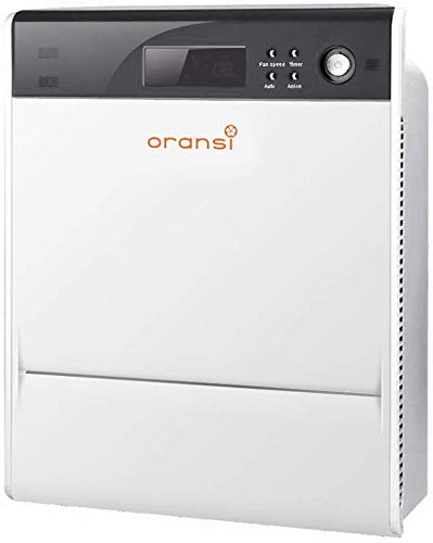 Oransi Max HEPA Large Room Air Purifier with finn hepa uv air Purifier for Asthma Mold, Dust,Allergies, Pets,Odors, Smoke and Pollen
