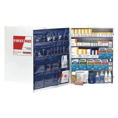 First Aid Kit, General Purpose, Metal