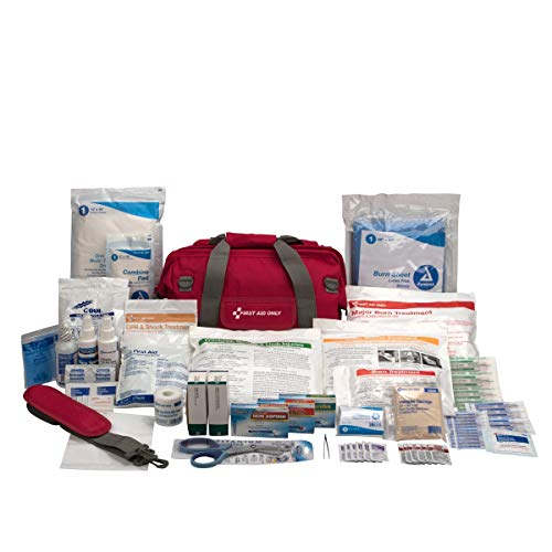 First Responder All-Terrain (Fracking) First Aid Kit, Fabric Case - Trauma Medical Emergency First Aid Kit