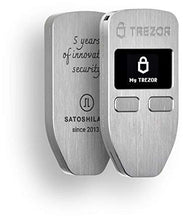 Trezor One 5th Anniversary Limited Aluminion Edition - Cryptocurrency Hardware Wallet - The Most Trusted Cold Storage for Bitcoin, Ethereum, ERC20 and Many More (Metallic)