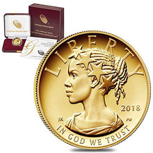 2018 W Gold Eagle 2018 W 1/10 oz $10 American Liberty Proof Gold Coin (w/Box & COA) $10 Proof US Mint DCAM