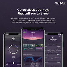 MUSE S: The Brain Sensing Headband - Guided Meditation and Sleep Multi Sensor Headset | Pre-Sleep Tracker with Responsive Audio | Feedback Device Monitors Brain Wave, Heart, Breath & Body Activity
