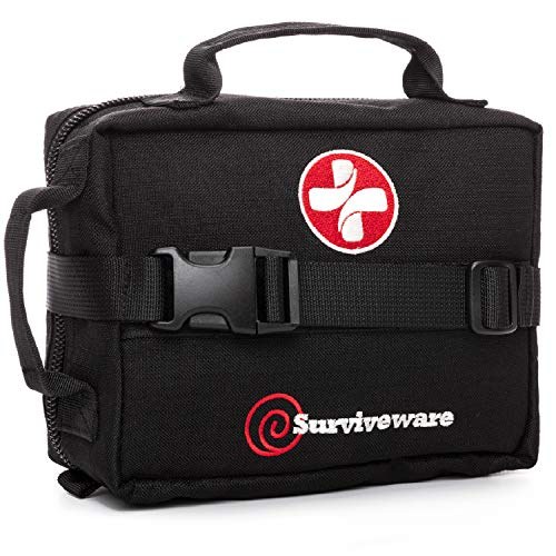 Surviveware Survival First Aid Kit (Black)