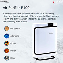 BONECO - Air Purifier P400 with HEPA & Activated Carbon Filter