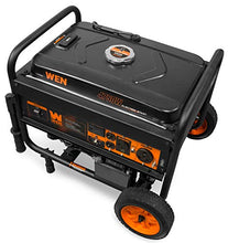 WEN 56475 4750-Watt Portable Generator with Electric Start and Wheel Kit