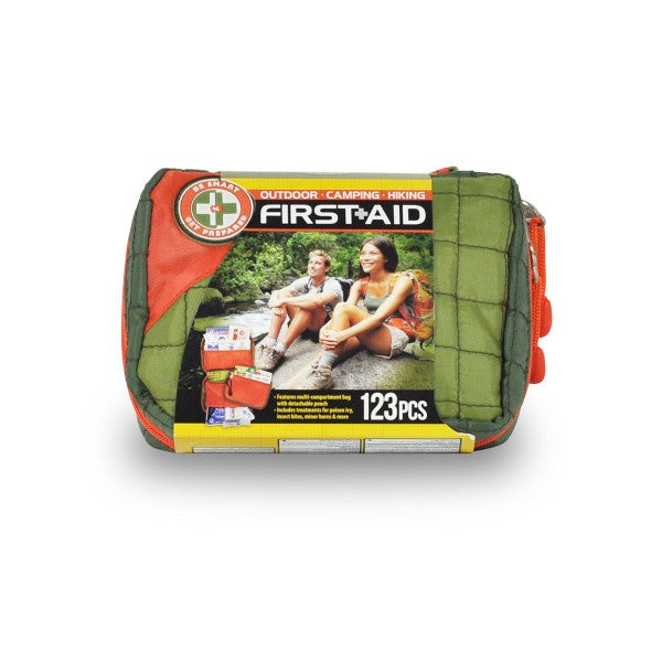 Outdoor First Aid Kit - 123 Pieces