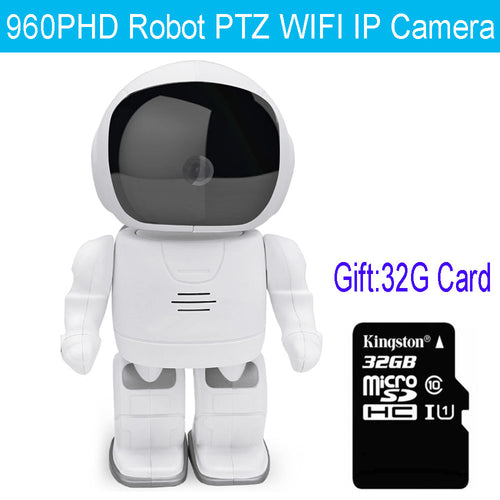 IP Camera Robot Vision Audio Recording Baby Monitor - Home Security IP Camera