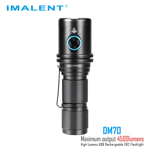 Imalent DM70 Flashlight Taser