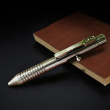 New Damascus Flame Pattern Tactical Pen