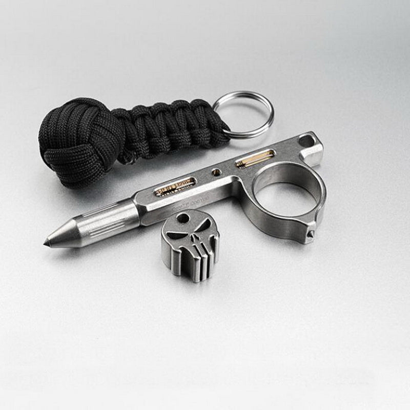 Titanium Alloy Tactical Pen with Tungsten Steel Head