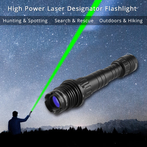 Strobe Laser Flashlight