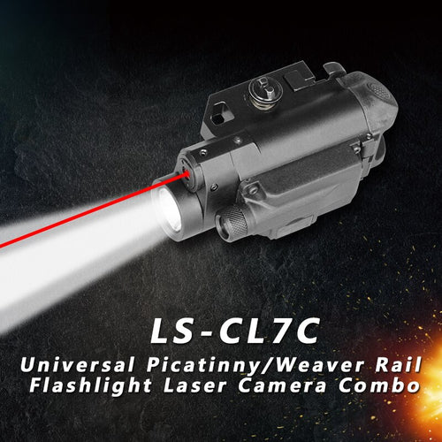 Laser Tactical Light Video Recorder For Gun