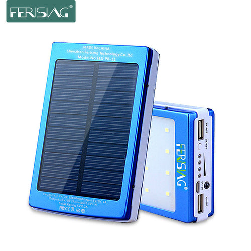 Solar Power USB Charger For IPhone/Samsung/HTC