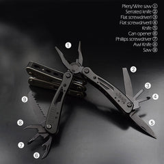 Tactical Multitool  All-In-One