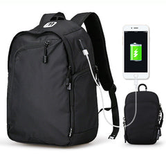 Backpack USB charging for 14