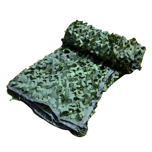 Pure Green Camo Netting