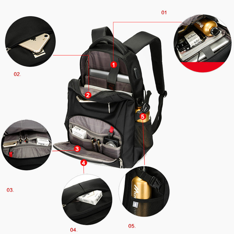 USB Charger Laptop Backpacks