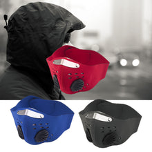Outdoor Cycling Face Mask - Activated Carbon Protective Filter - Dust and Wind-proof