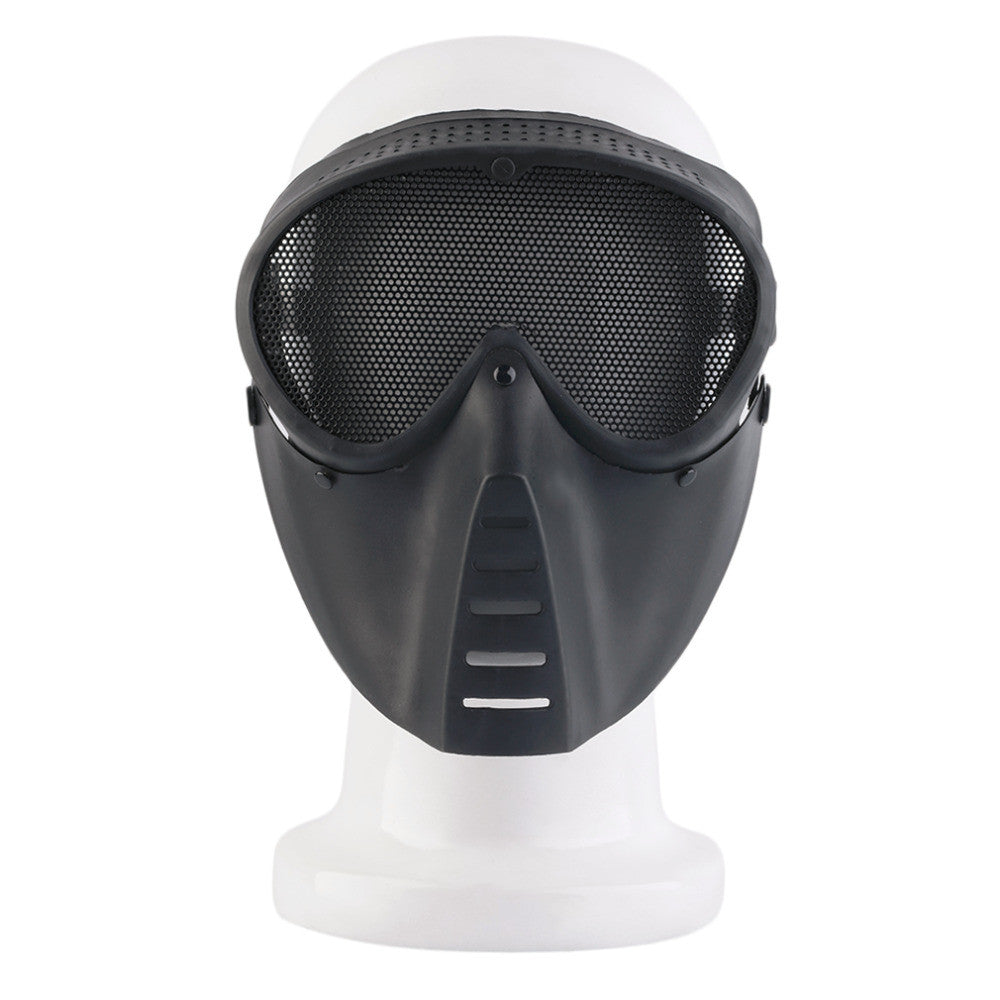 BB Mesh Face Protecting Black Mask