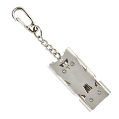 Stainless Steel Survival Metal Rescue Whistle