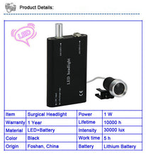 Rechargeable Surgical LED Light Adjustable Brightness