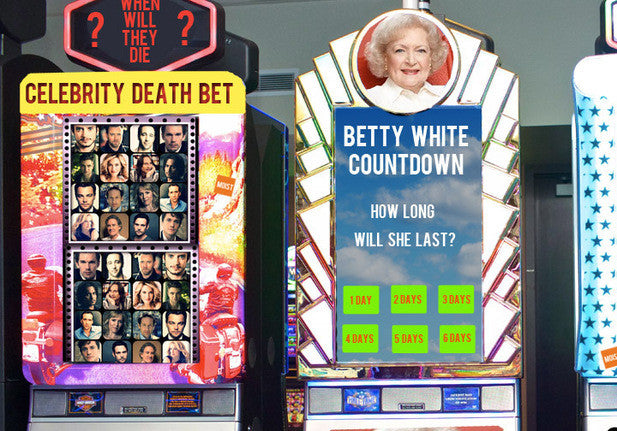 Bellagio to Open Thirty Celebrity Death Betting Stations