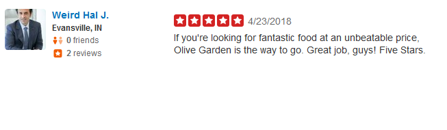 McDonalds Yelp Review