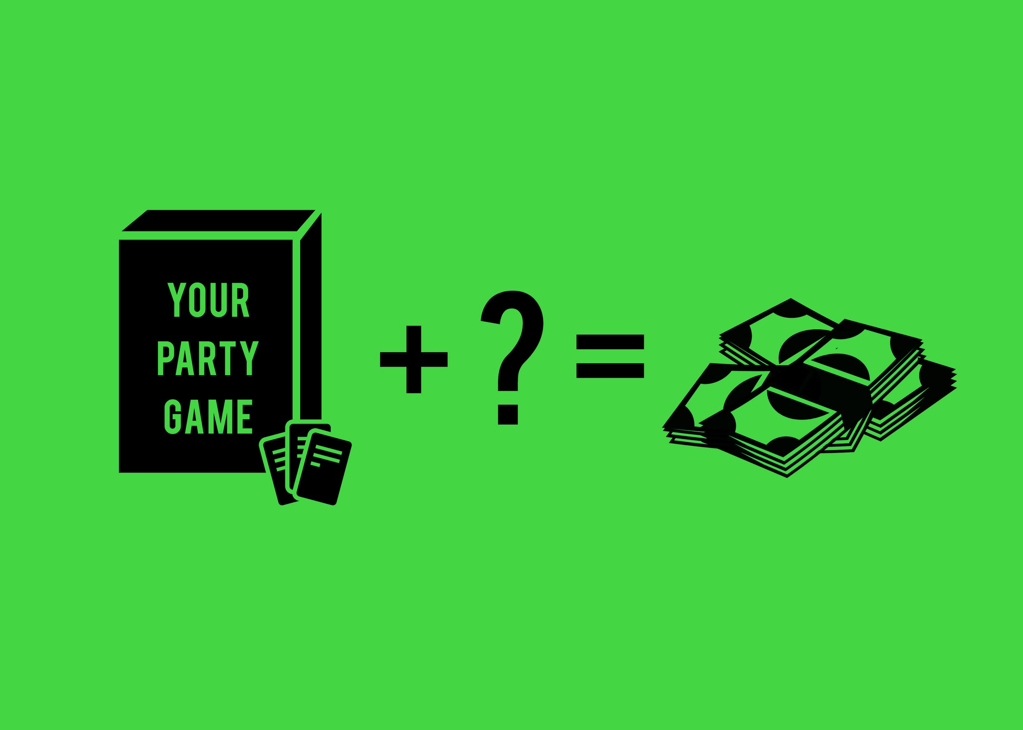 How to Sell a Party Game