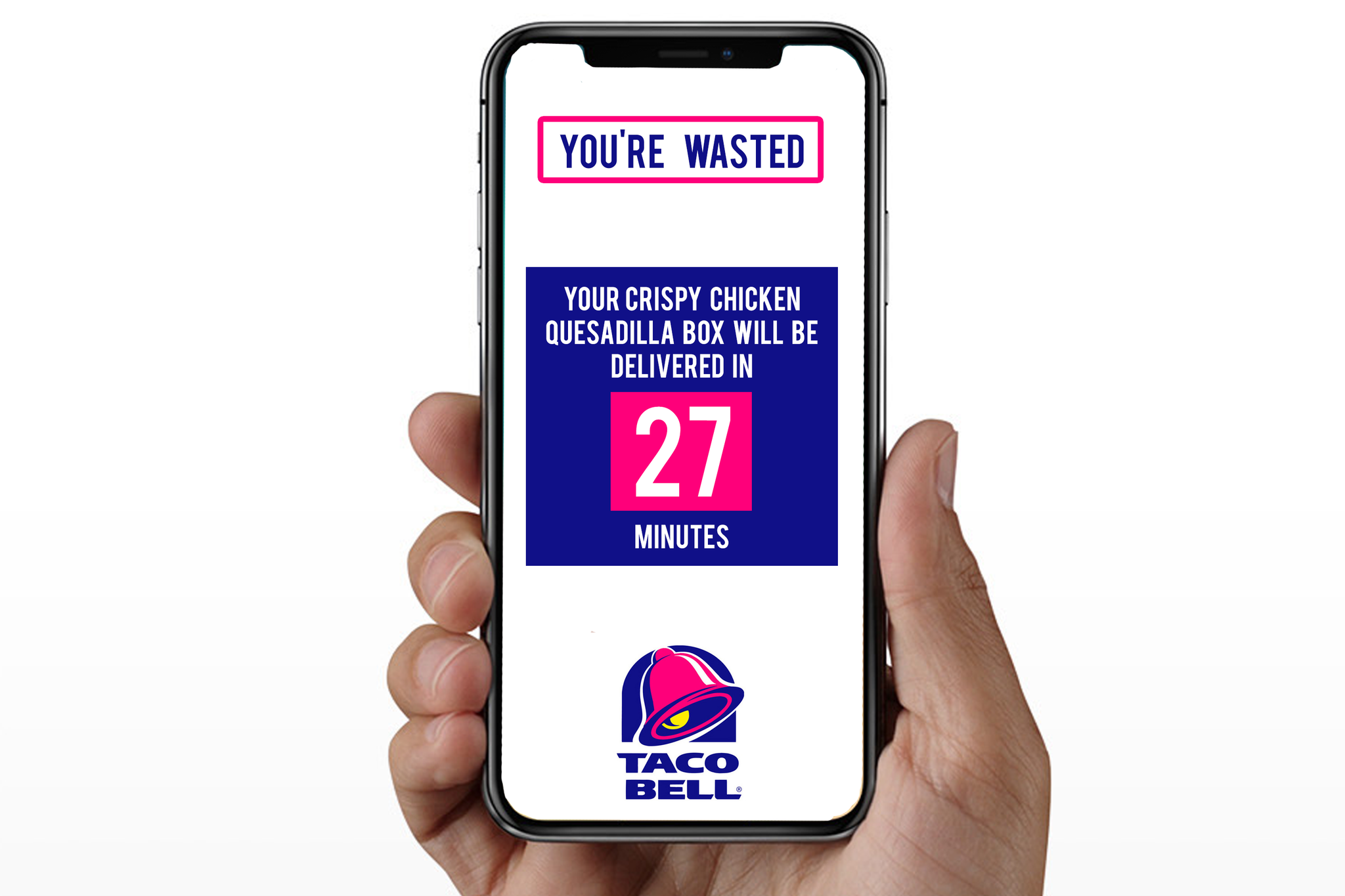 iPhone X Taco Bell Delivery