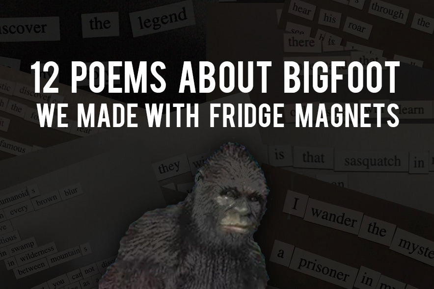 Bigfoot Poetry
