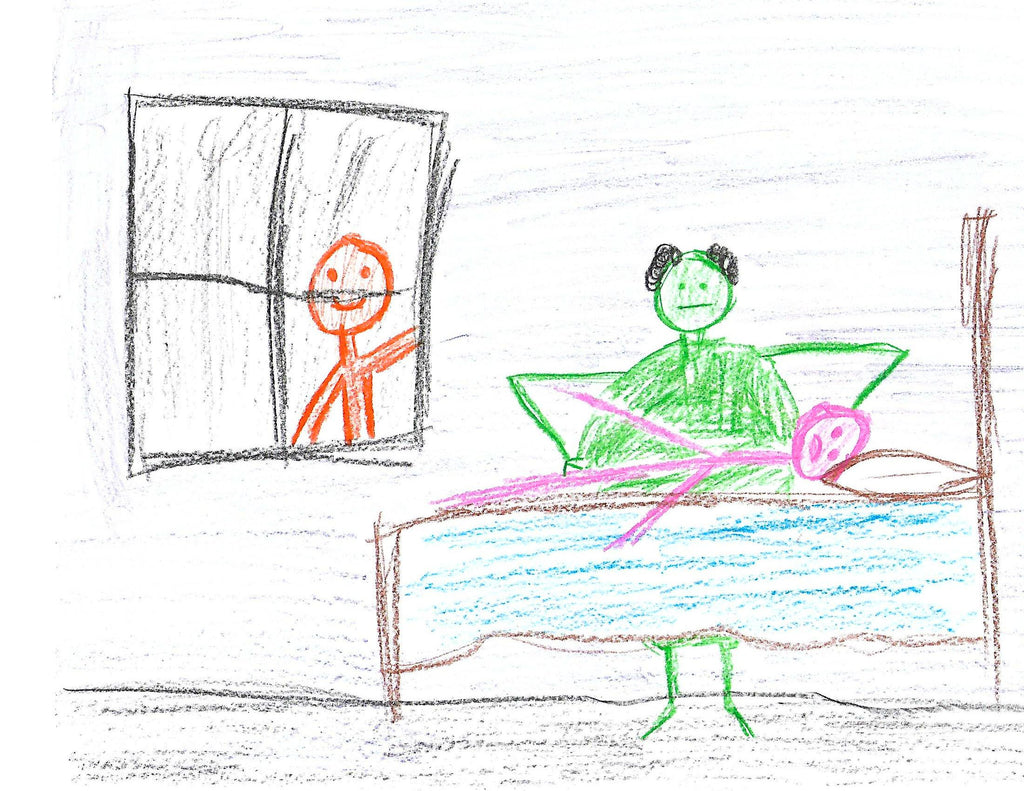 13 Super Scary Drawings My Kid Made After We Accidentally Moved Into A Dead Ends Entertainment