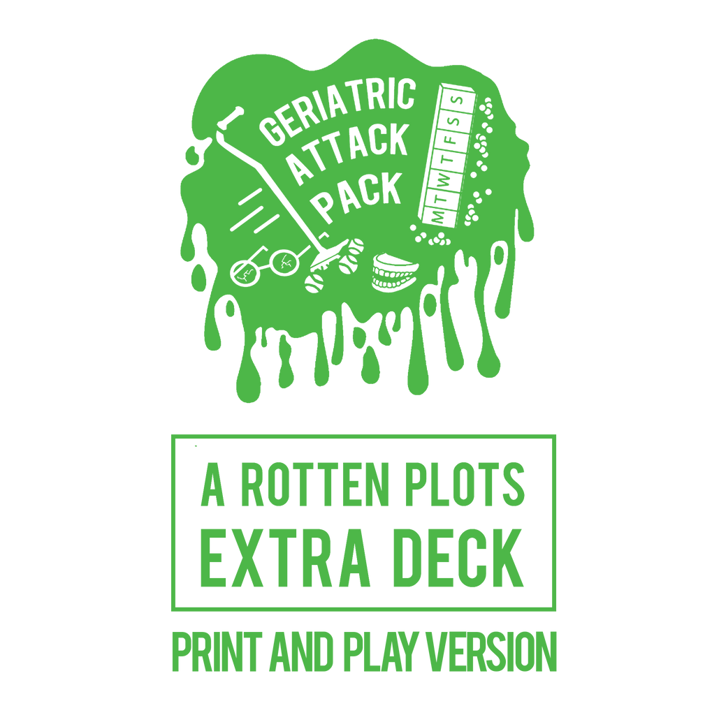 Geriatric Attack Pack (Print & Play) - Rotten Plots