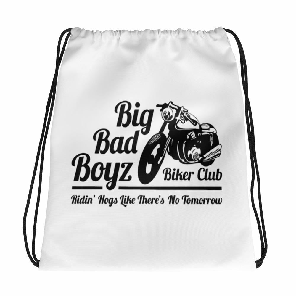 """Big Bad Boyz Biker Club"" Drawstring bag"