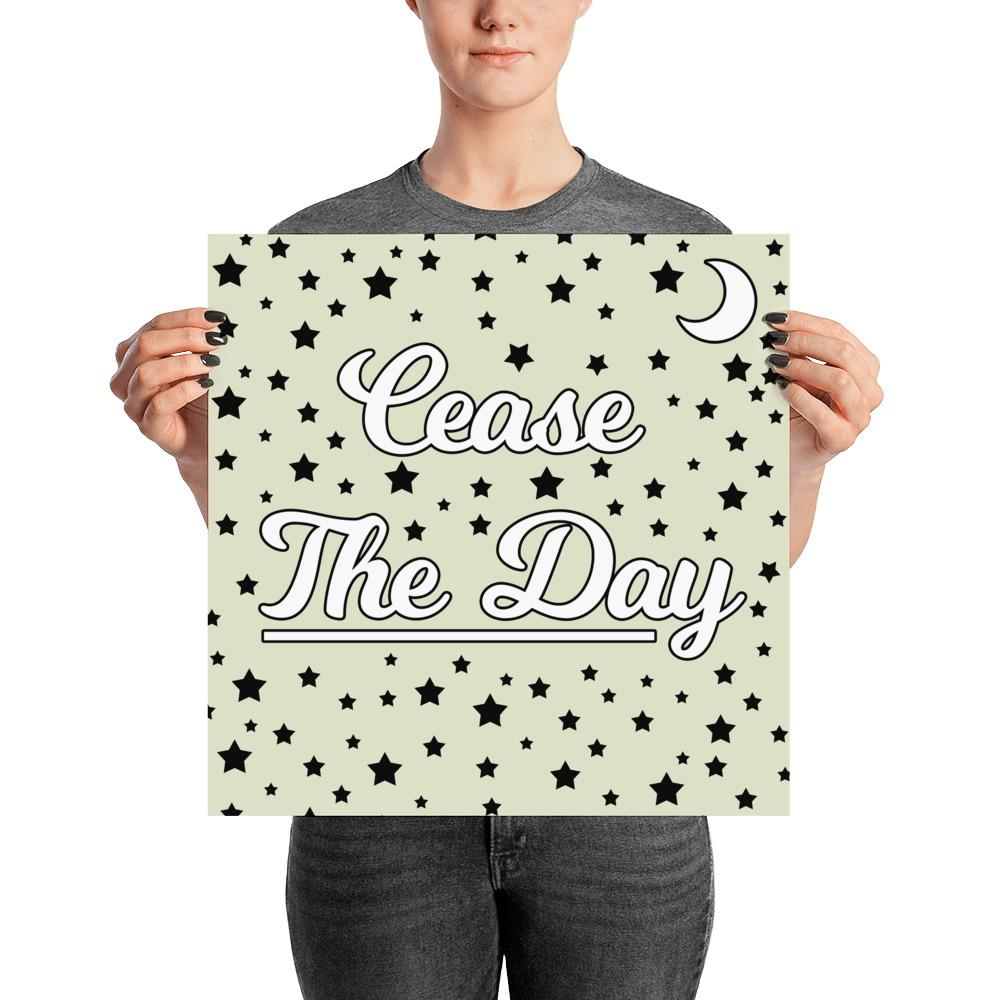 """Cease the Day"" Wall Art"