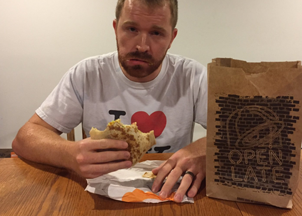 We'll Film Ourselves Emotionlessly Eating Anything From Taco Bell
