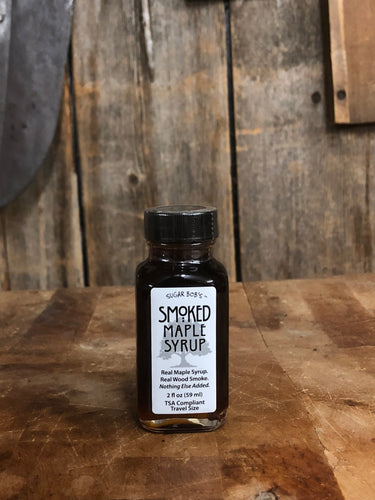Sugar Bob's Smoked Maple Syrup (59 ml)