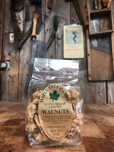 Maple City Candy Maple Sugar Coated Walnuts