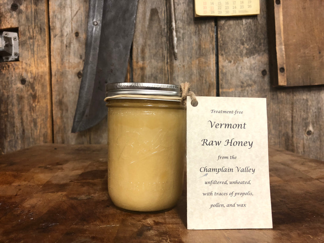 Vermont RAW Honey Large