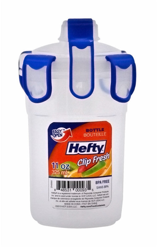 The Hefty® Clip Fresh® 11 Oz Airtight Bottle with Lock-Tight Spout
