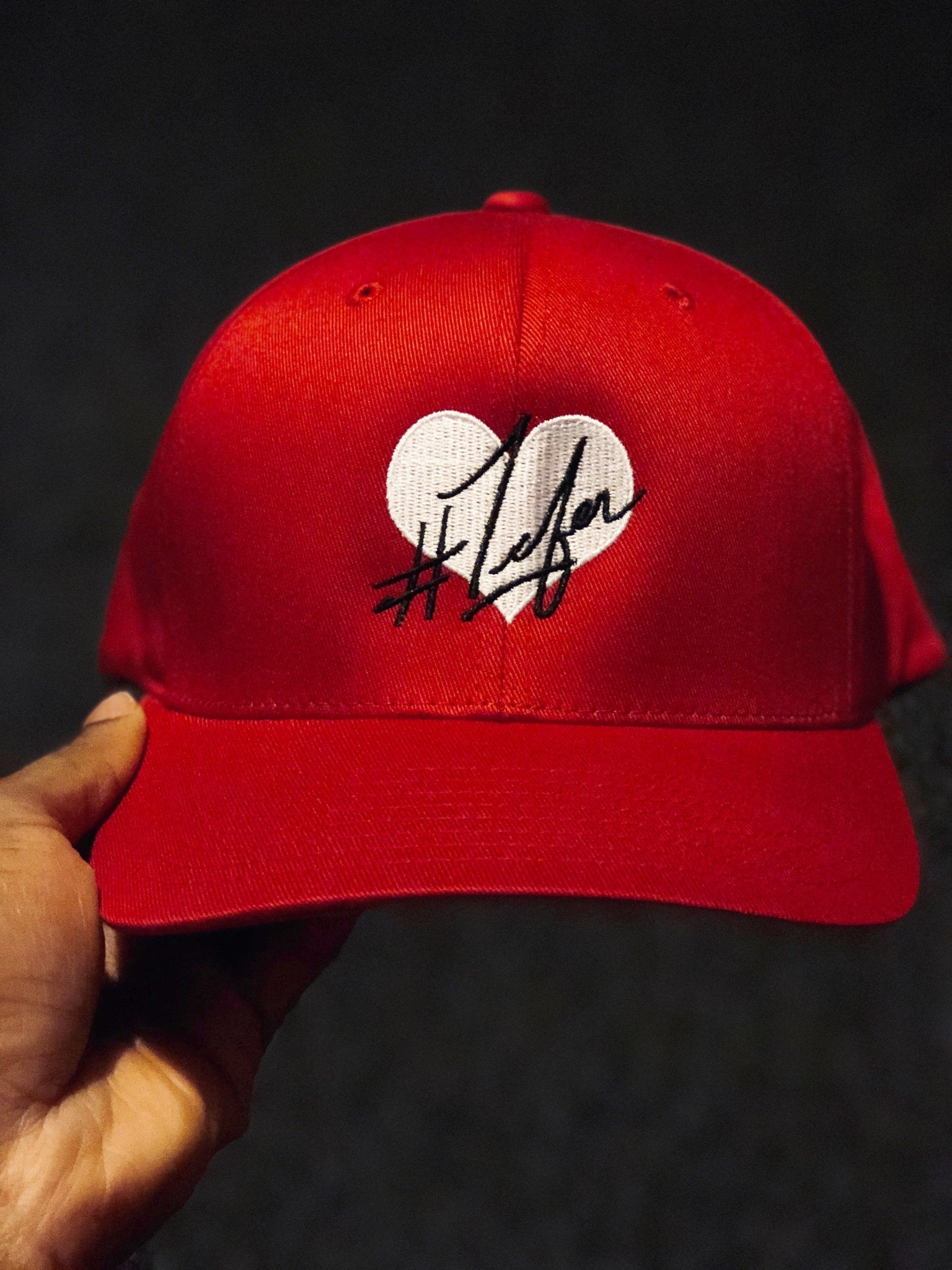 1Lifer Love RED Dad Hat