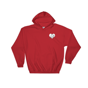 1Lifer Love RED Embroidered Hoodie