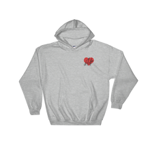 1Lifer Love Embroidered Hoodie (blk txt)