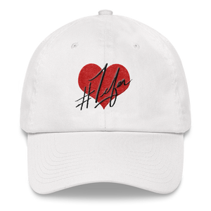 1Lifer Love Embroidered Dat Hat (wht)